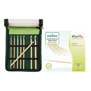 KnitPro Bamboo Häkelnadel-Set, Art. 22549