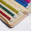 KnitPro ZING Strumpfstricknadel Set 20 cm lang, Art. 47402