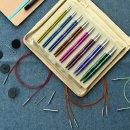 KnitPro ZING Deluxe Set, auswechselbare Nadelspitzen, Art. 47404