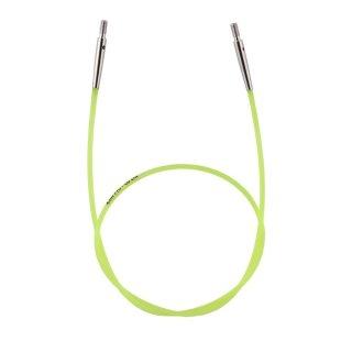 KnitPro Nadelseil für ca. 60 cm Gesamtlänge, grün