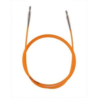 KnitPro Nadelseil für ca. 80 cm Gesamtlänge, orange