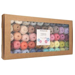 Catania Box 02 Pastellfarben, Amigurumi Box, Pastels