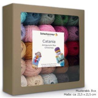 Catania Box 04 Weihnachten, Amigurumi Box, 25 x 20g Christmas